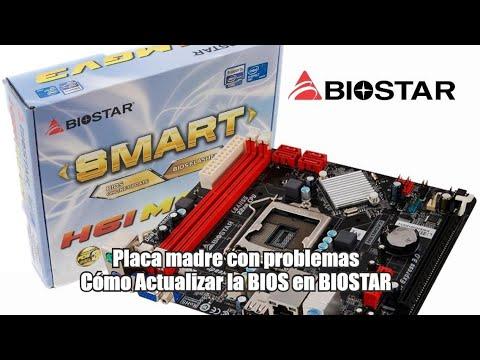 Actualizar BIOS de una placa madre BIOSTAR con problemas