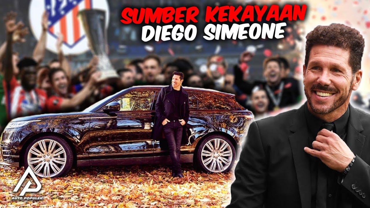Seberapa Kaya Pelatih Atletico Madrid,! Begini Koleksi Mobil Mewah Diego Simeone