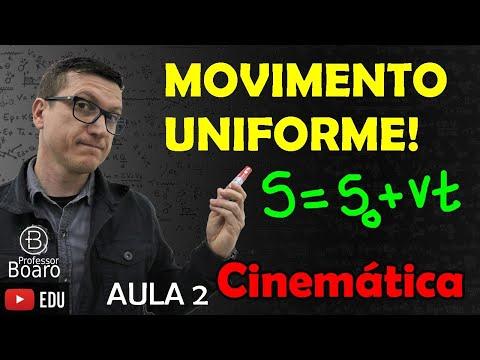 MOVIMENTO UNIFORME - CINEMÁTICA - (TEORIA + EXERCÍCIOS) - AULA 2