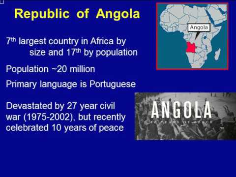 Public Health Webinar on Hemoglobinopathies: An Overview of Sickle Cell Disease in Angola