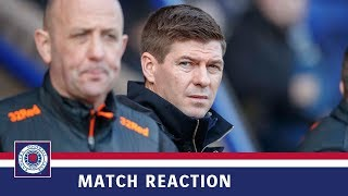 REACTION | Steven Gerrard | St Johnstone 2-2 Rangers