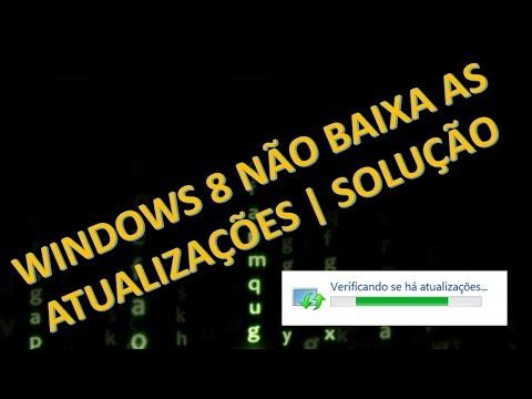 Windows Update do Windows 8.1 não sai do verificando se há atualizações   Solução