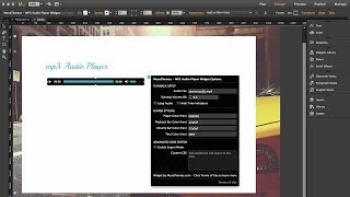 MuseThemes.com - MP3 Audio Player Widget | Adobe Muse CC 2014 Tutorial