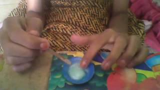 cara membuat slime gampang hanya dengan 2 bahan yg ada di rumah