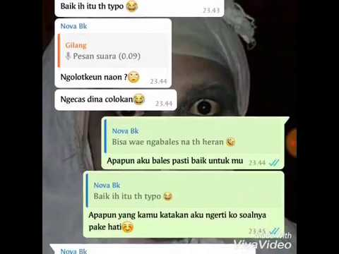 Chat Gombal Part 1 Digrup Serasa Personal Chat Ajah Youtube