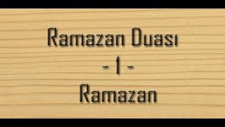 RAMAZAN DUASI
