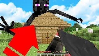 DEV MUTANT ENDERMAN EVİME SALDIRIYOR! 😱 - Minecraft