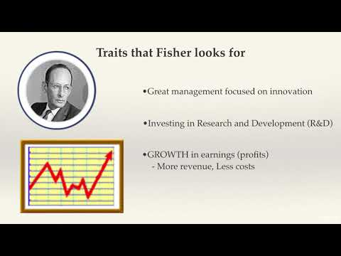 Philip Fisher Growth Investing
