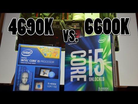 Skylake vs. Haswell: i5 6600K vs. i5 4690K