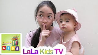 Hide and Seek Pretend Play Fun with lala and miu!!!
