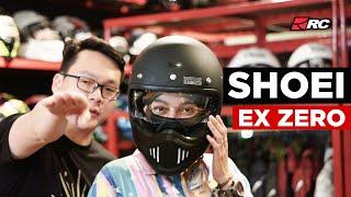 RC REVIEW  Kupas helm Shoei Ex Zero bersama Fina Phillipe