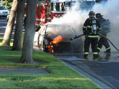 Car Fire in Dublin- Pleasanton, CA