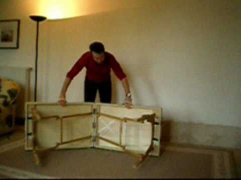 Table de massage pliante youtube - Table pliante massage ...