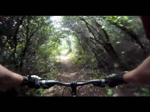 GoPro HD Mountain Biking Holy Jim Trail To Saddleback Peak - Chest Mount