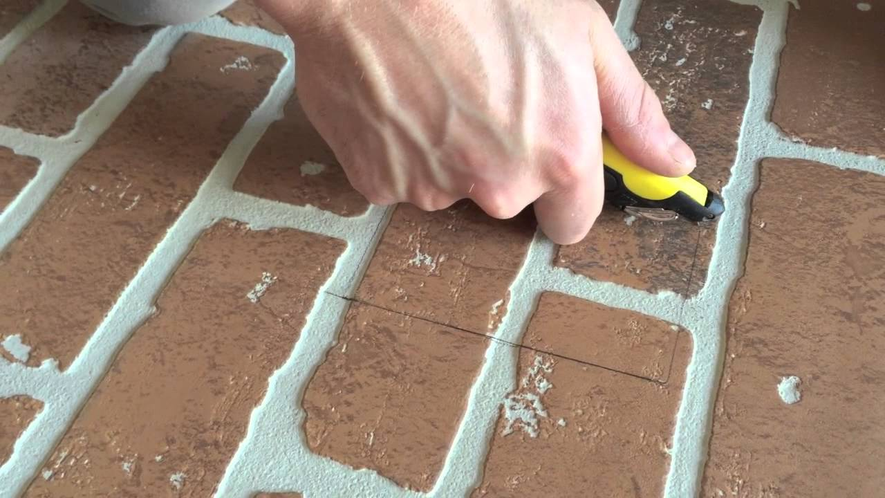 DIY: FAUX BRICK WALL | HOME DEPOT
