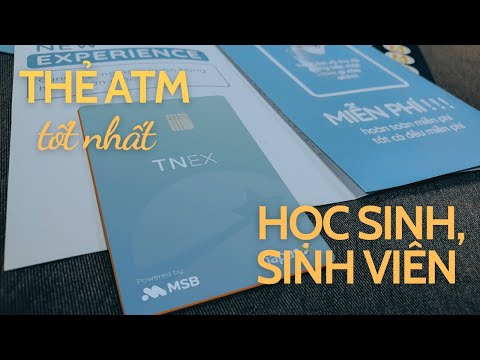 TNEX - Thẻ ATM miễn phí tốt nhất cho học sinh, sinh viên | Mezor