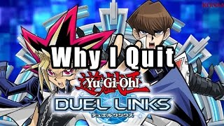 Why I Quit Yu-Gi-Oh! Duel Links