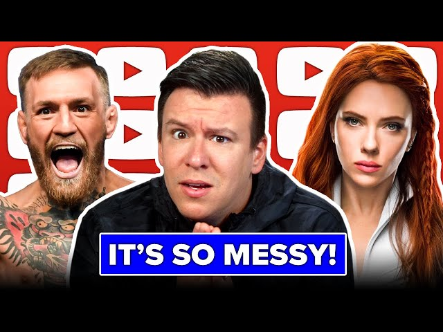 This Disgusting Conor McGregor Situation Exposes A Lot, Scarlett Johansson Suing Disney, & More News