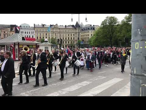 Parade in Stockholm 2018: Norwegian Constitution Day