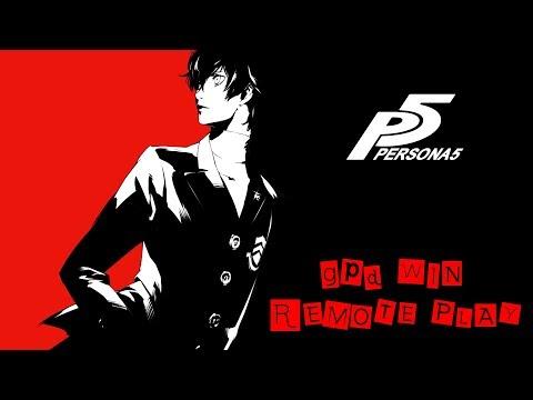 Persona 5 PS4 via Remote Play on GPD WIN : gpdwin