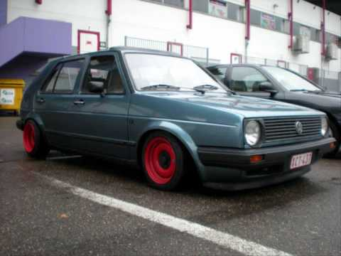Vw Golf Mk2 Oldschool Part I Youtube