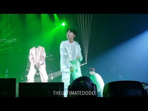 180905 Outro: Tear @ BTS 방탄소년단 Love Yourself Tour in LA Fancam 직캠