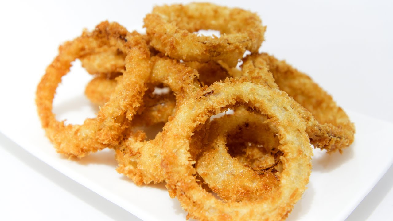 How To Make Crispy, Crunchy Onion Rings - Video Recipe ...