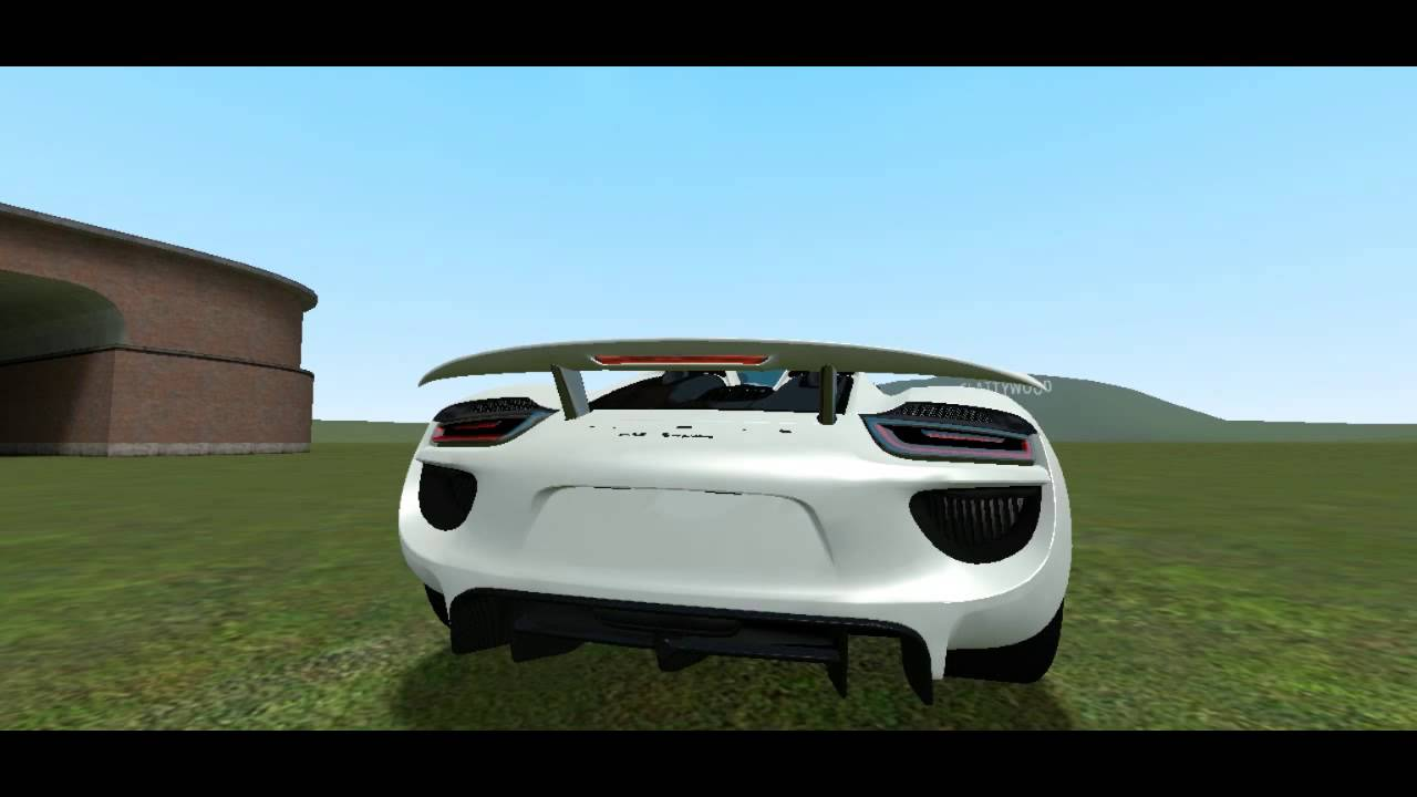 gmod mod showcase part 1 la ferrari vs porsche 918 spyder. Black Bedroom Furniture Sets. Home Design Ideas