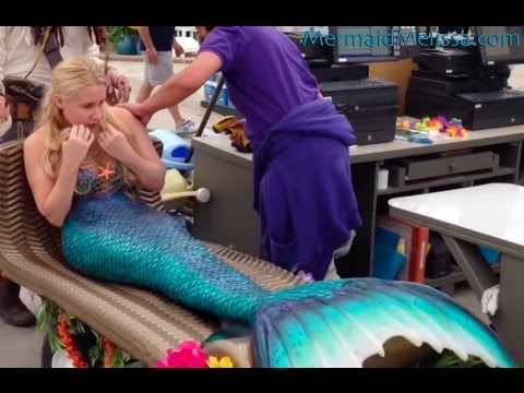 Pirate buys a real live mermaid