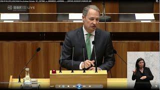 Schieder zu Steuerhinterziehung: SPÖ will Verschärfungen auf nationaler und internationaler Ebene