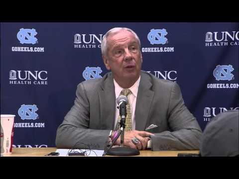 UNC Men's Basketball: Roy Williams Post Fairfield