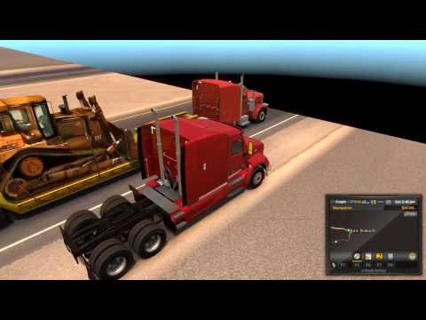 American Truck Simulator - Visiting New Mexico Before DLC Released