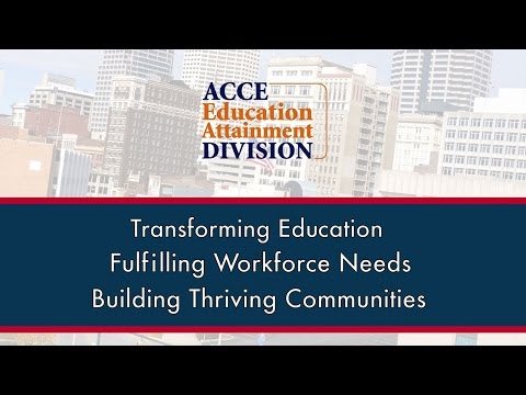 ACCE's Education Attainment Division