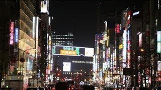 Tokyo by night - Vlog Lunedì 18 Marzo 2013