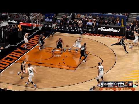 NBA2K16 The Spurs Way Season 4 Game 1 #Phoenix Suns