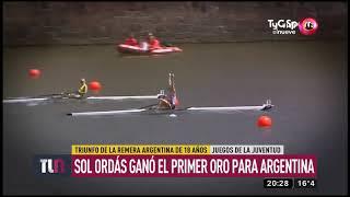 Sol Ordás gana el primer oro para Argentina