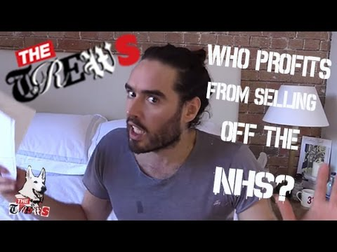 Guess Who Profits From Selling Off NHS: Russell Brand The Trews (E208)