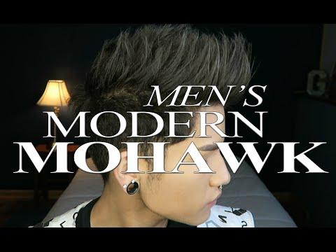 mens-modern-mohawk- -hair-tutorial