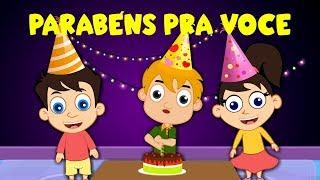 Parabéns pra voce - Música Infantil - Canções Populares
