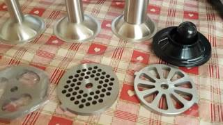 Luvele Ultimate meat grinder mincer sausage filler unbox test