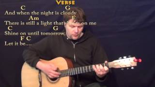 Let it Be (The Beatles) Strum Guitar Cover with Chords/Lyrics