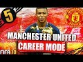 SIGNING MBAPPE!!! FIFA 18 MANCHESTER UNITED CAREER MODE #5
