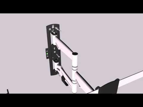 видео: Кронштейн для телевизора 37-70 дюймов brateck lda20-463