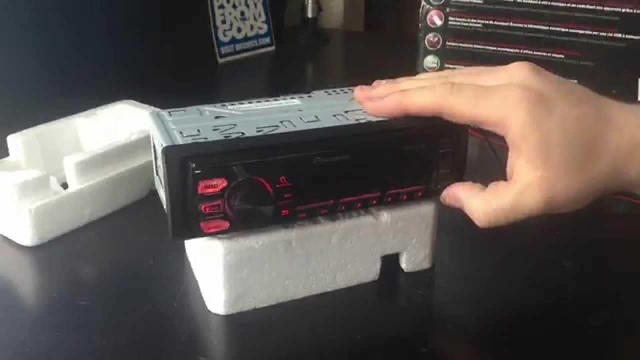 wiring mvh car pioneer diagram stereo x560bt [ 1280 x 720 Pixel ]
