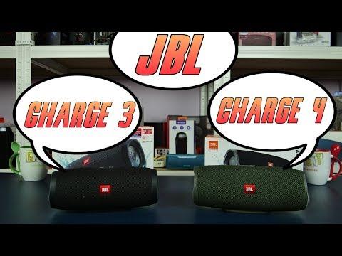 JBL Charge 3 vs JBL Charge 4 - porównanie, blind test, różnice. Który wybrać?