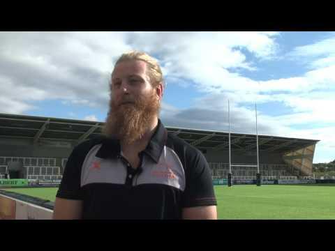 Evan Olmstead - Post Falcons v Doncaster