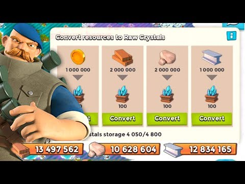 Boom Beach HOW TO OVERFLOW YOUR LOOT STORAGE! 130 Trader Crate Opening!