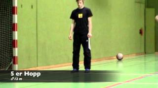 Sportaufnahmeprüfung Graz - Demo Video Grundlagen