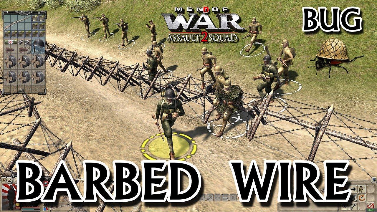 Men Of War Assault Squad 2 Barbed Wire Bug
