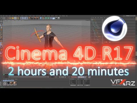 Tutorial Cinema 4D R17 |Beginner to Advanced | Modeling,Rigging,Animation,Particle,Lighing,Texturing